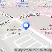 Map ATM Charlotte, United States