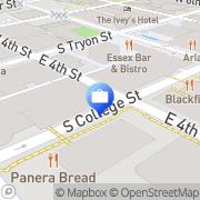 Map BB&T Charlotte, United States