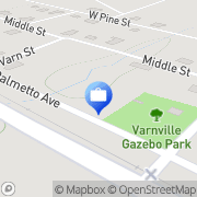 Map Nationwide Insurance: Insurance  Consulting Services, LLC Varnville, United States