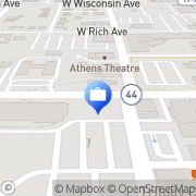 Map Ryan Insurance and Financial Service De Land, United States