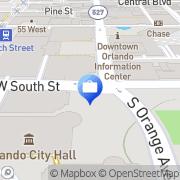 Map HolySmoke Orlando, United States