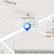 Map ATM Cleveland, United States
