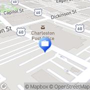 Map Wachovia Charleston, United States