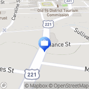 Map Nationwide Insurance Laurens, United States