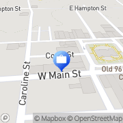 Map American National Insurance Co. Laurens, United States