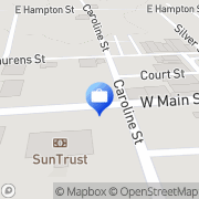 Map Wilson Insurance Agency Laurens, United States