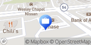 Map Chase Bank Wesley Chapel, United States