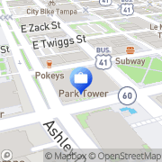 Map BB&T Tampa, United States