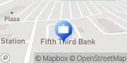 Map Fifth Third Bank & ATM Blacklick, United States