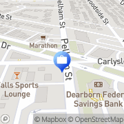Map ATM Dearborn, United States