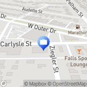 Map Ohio National Life Insurance Co. Dearborn, United States