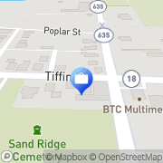 Map Tiell Financial Group Bascom, United States