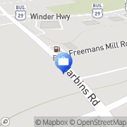 Map ATM Dacula, United States