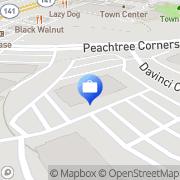 Map MassMutual Perimeter Peachtree Corners, United States