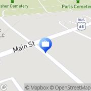 Map Check Advance Paris, United States