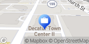 Map Edward Jones - Financial Advisor: Della Woodward Decatur, United States