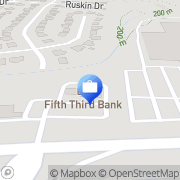 Map Fifth Third Preferred - Joseph Schaefer Springdale, United States