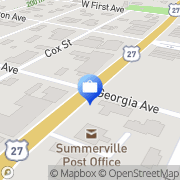 Map Flegal Insurance Summerville, United States