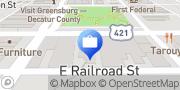 Map Edward Jones - Financial Advisor: Charla K Nash Greensburg, United States