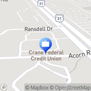 Map Crane Credit Union Franklin, United States