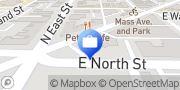 Map ATM Mass Ave Indianapolis, United States