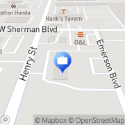 Map Brightway Insurance, The Lambert Family Agency Muskegon, United States