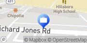 Map Edward Jones - Financial Advisor: Nathan L Wise Nashville, United States