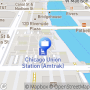 Map Fifth Third Private Bank - Peggy Sajdak Chicago, United States