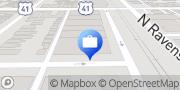 Map Edward Jones - Financial Advisor: Bill M Crawford IV Chicago, United States