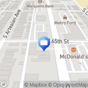 Map Harris Chicago, United States