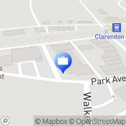 Map Claredon Clarendon Hills, United States