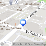 Map Rockford Bank & Trust Co Rockford, United States