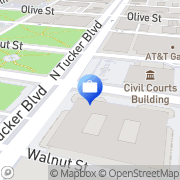 Map Pulaski Bank Saint Louis, United States