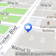 Map US Bank Saint Louis, United States