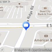 Map American Bank and Trust Co. Davenport, United States