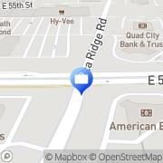 Map RBC Wealth Management Davenport, United States