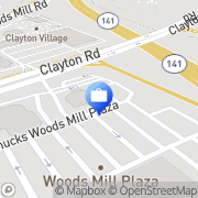 Map Commerce Bank Chesterfield, United States