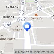 Map Allied Cash Advance Denham Springs, United States