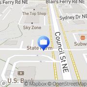 Map Edward Jones - Financial Advisor: Jammie Lowe Cedar Rapids, United States