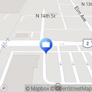 Map Citi Financial Superior, United States
