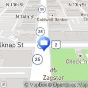 Map Precision Mortgage Superior, United States