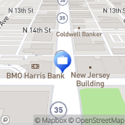 Map M and I Bank Superior, United States