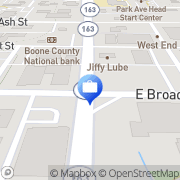 Map Abbey Riley - COUNTRY Financial representative Columbia, United States