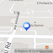 Map Commerce Bank Springfield, United States