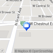 Map Alexis Adey - COUNTRY Financial representative Springfield, United States