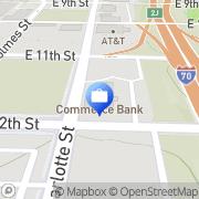 Map Commerce Bank Kansas City, United States