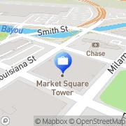 Map Hancock Whitney ATM Houston, United States