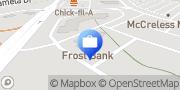 Map Frost Bank San Antonio, United States
