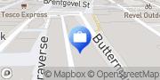 Map Nationwide Building Society Bury St. Edmunds, United Kingdom