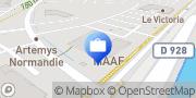 Carte de MAAF Assurances ROUEN ISNEAUVILLE Isneauville, France